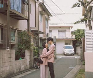 asian, couple, and ulzzang girl image