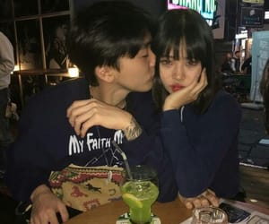 asian, couple, and ulzzang couple image