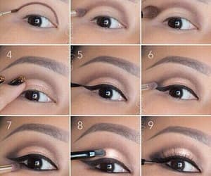 inspiration, eyes, and makeup image
