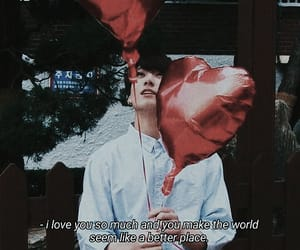 balloons, dark, and grunge image