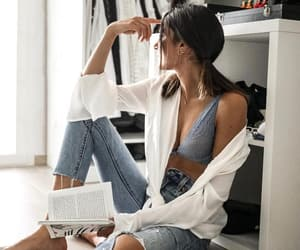 dressing, fashion, and jeans image