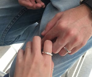 couple, theme, and hands image