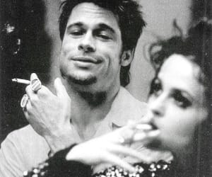 brad pitt, fight club, and helena bonham carter image