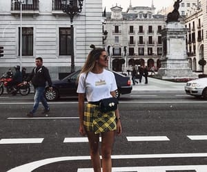 inspiration, outfit, and yellow image
