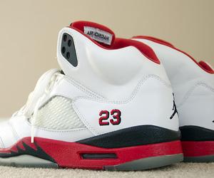 Basketball and shoes image