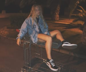 grunge, night, and shop image