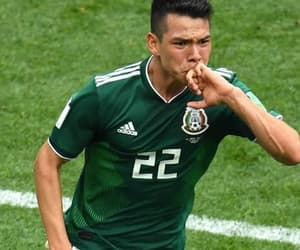 seleccion mexicana, rusia 2018, and hirving lozano image