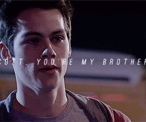 teen wolf, stiles stilinski, and brothers image