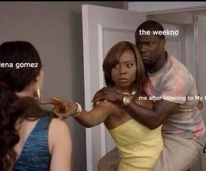 meme, funny, and the weeknd image