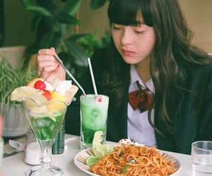 eat, food, and girl image