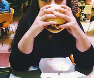 amarillo, black, and burger image
