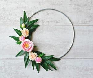 etsy, scandi wreath, and wedding decor image