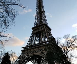 eiffel, france, and tower image