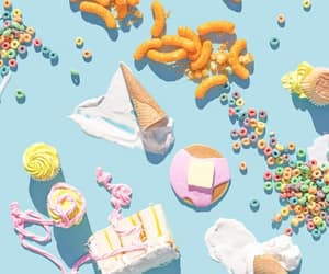 candy, cereal, and food image