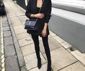Yves Saint Laurent, fashion style, and outfit clothes image