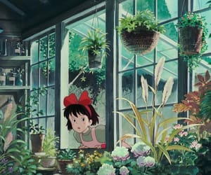 kiki's delivery service, ghibli, and anime image