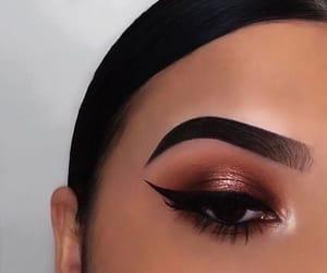 makeup, make up, and eyebrows image
