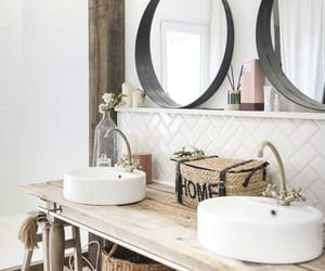 bathroom, home, and inspiration image