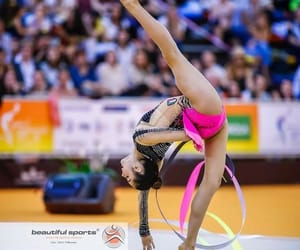 ribbon, rhythmic gymnastics, and agiurgiuculese image