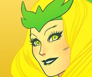 Amora, Marvel, and enchantress image