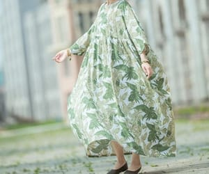 etsy, long dresses, and loose dresses image