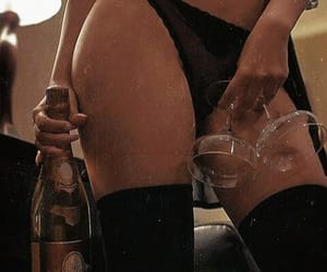 black, champagne, and Hot image