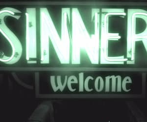 aesthetic, neon sign, and gif image