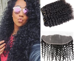 lace frontal, hair, and ear to ear lace image