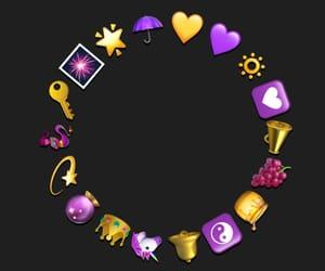 circle, edit, and gold image