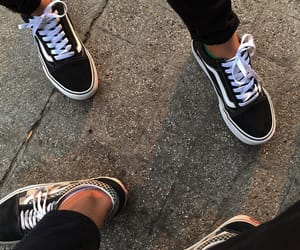 vans, vansoldskool, and oldskool image
