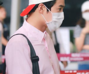 p: fantaken, e: airport, and suho image