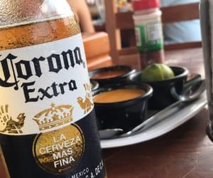 beer, cerveza, and corona image