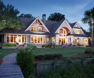 architecture, dream home, and home image