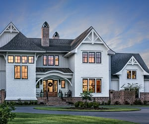 architecture, dream house, and home design image