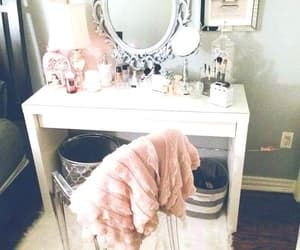room, pink, and home image