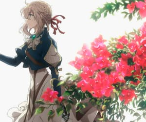 anime, violet evergarden, and art image