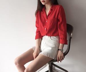 asian fashion, bottom, and kfashion image