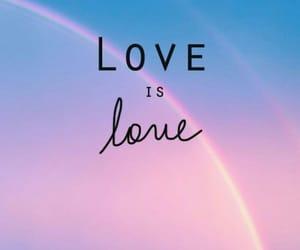love, rainbow, and lgbt image