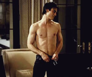 gif, the vampire diaries, and ian somerhalder image