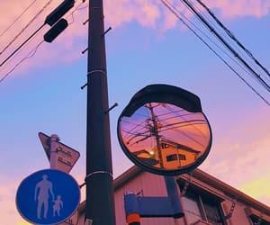 japan, street, and sun image