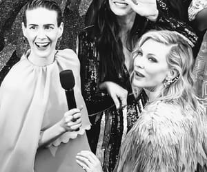 black and white, cate blanchett, and sandra bullock image