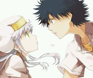 index, touma, and to aru majutso no index image