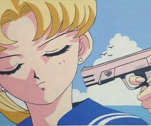 anime, sailor moon, and anime aesthetic image
