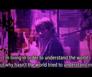 edit, purple, and quotes image