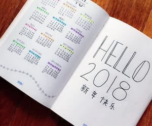 calendar, chinese, and diary image