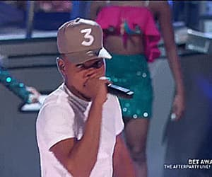 gif, i'm the one, and chance the rapper image