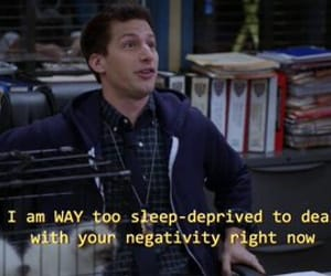 mood, tv quote, and fuck negativity image
