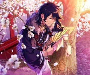 anime, building, and sakura image