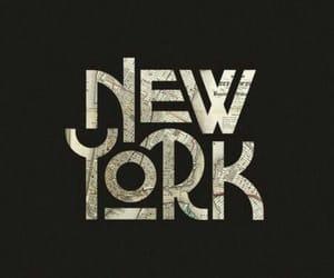 america, new york, and art image