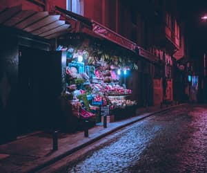 istanbul, neon colors, and night image